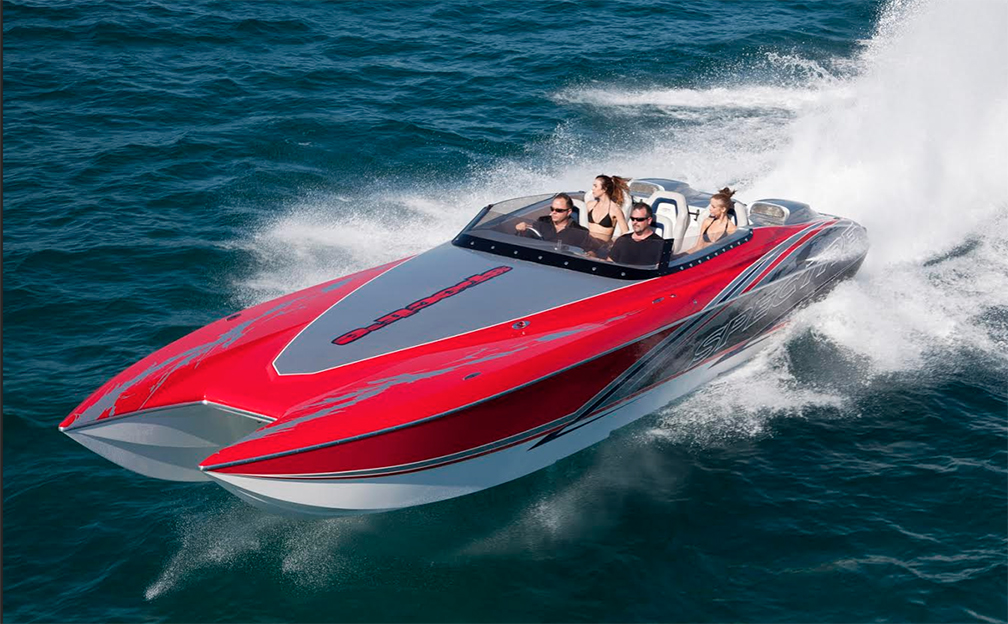 Spectre Powerboats, the builder of APBA World Champion catamarans that ...
