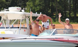 Hartwell Lake Boat Poker Run